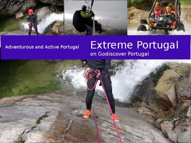 adventure activities Portugal