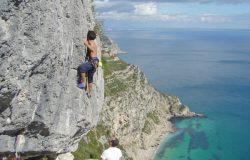 Rock climbing Arrabida, Lisbon