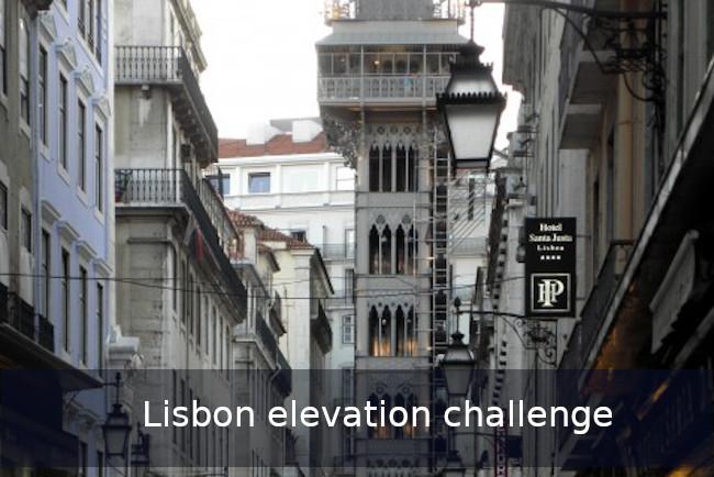 Lisbon Elevation Challenge