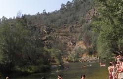 River beach of Penedo Furado, Vila de Rei